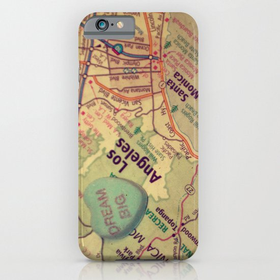 Dream Big Los Angeles iPhone & iPod Case