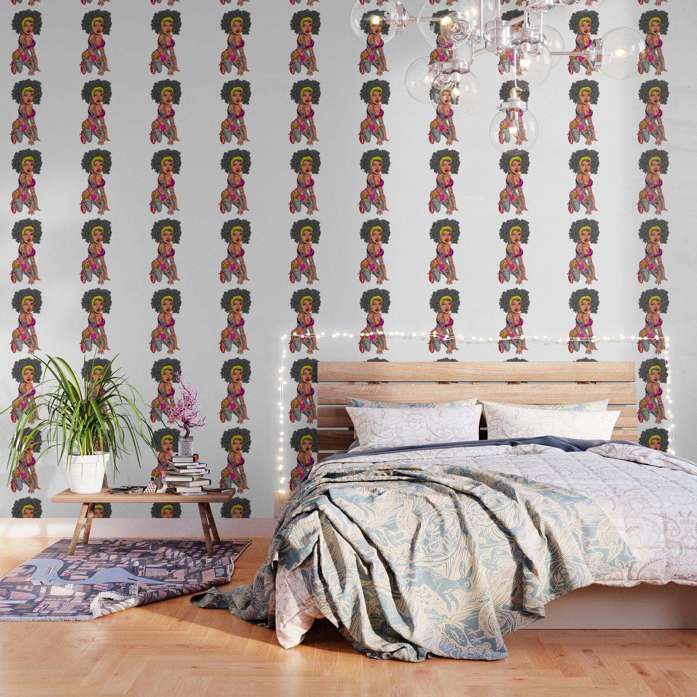 Pin Up Girl Wallpaper By Wichitacathedral Society6
