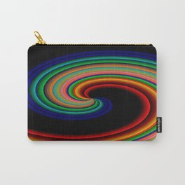 Waves of Colors at night.... Carry-All Pouch