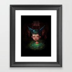 Zodiac Signs: Capricorn Framed Art Print