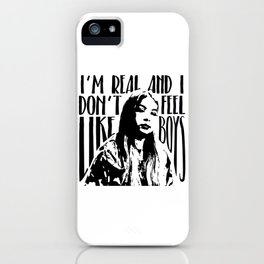 Hayley Kiyoko Girls Like Girls Quote iPhone Case