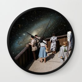 THE VIEW FROM ABOVE Wall Clock