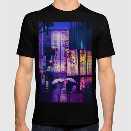 Tokyo Nights / Valentines Day / Liam Wong T-shirt