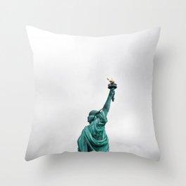 Liberty, Hope, America.... Throw Pillow