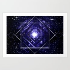 A breath infinity. Art Print