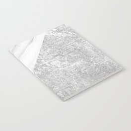 Grey / White Marble Notebook