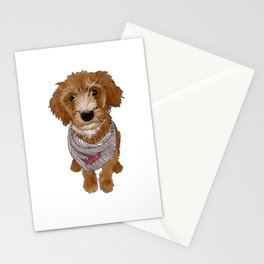 Millie the dog  Stationery Cards