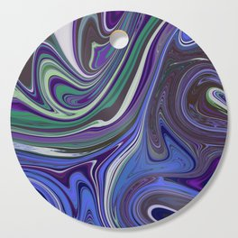 Purple pleasures Cutting Board