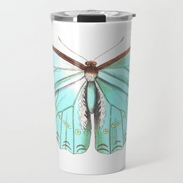 Butterfly Flutter By Travel Mug