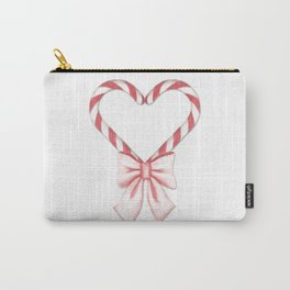 Candycane love Carry-All Pouch