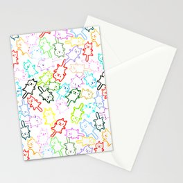 space kittens Stationery Cards