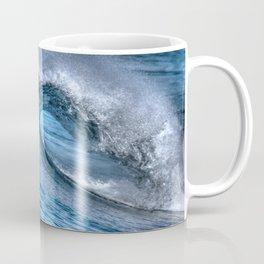 Looking Into The Tube Huntington Beach Pier Coffee Mug