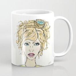 A Nest in her Hair Coffee Mug