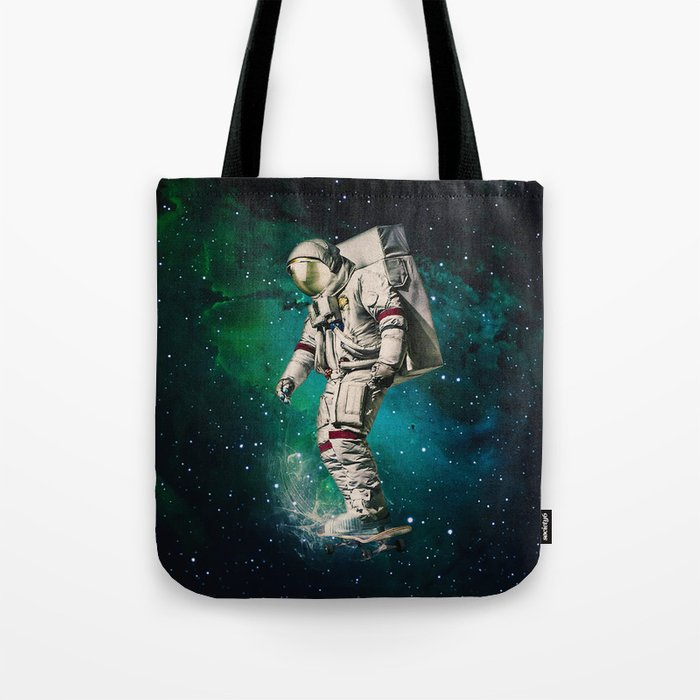 Space Ride Tote Bag