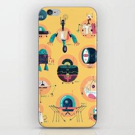 :::Mini Robots::: iPhone Skin