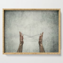 cats cradle Serving Tray