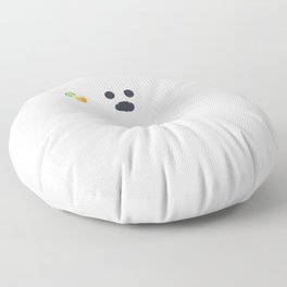 Funny Ghost Trick or Tequila Perfect for a Halloween Fan design Floor Pillow