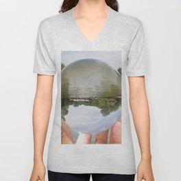 Lens Ball- Boathouse Unisex V-Neck