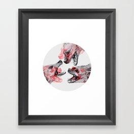Pack Mentality Framed Art Print