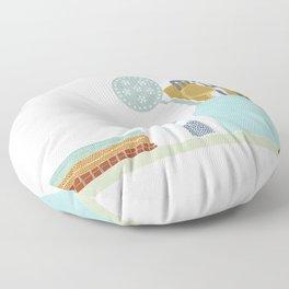 The Kitchen Shelf Floor Pillow