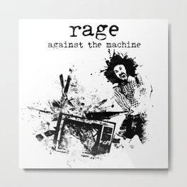 Rage Against the Machine Metal Print
