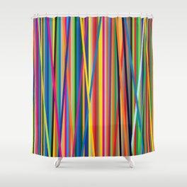STRIPES STRIPES STRIPES Shower Curtain