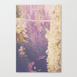 A Walk in the Treetops Canvas Print
