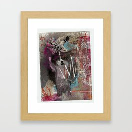 steady clownin' Framed Art Print