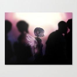 Anna Blue - Angel Canvas Print