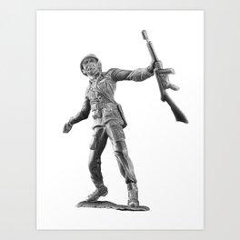 Toy Soldier Art Print