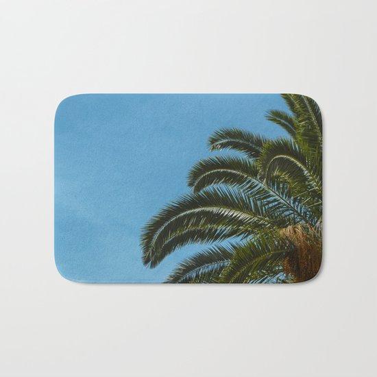 Tropical landscape Bath Mat