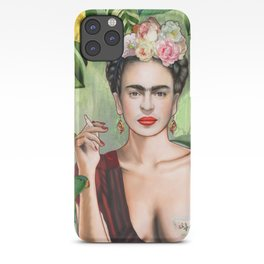 Frida con Amigos iPhone Case