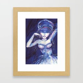 Jellyfish - Medusa Framed Art Print