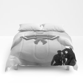 marshmallow doll Comforters