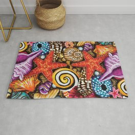 Treasure of the sea Rug