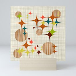 Starbursts and Globes 4 Mini Art Print