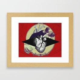 Corazón Puro Framed Art Print