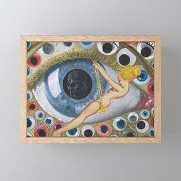 Eyes Wide Open Framed Mini Art Print
