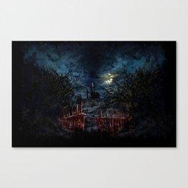 Castlevania: Vampire Variations- Gates Canvas Print