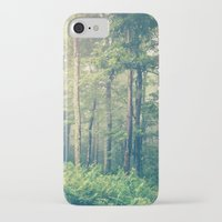woods iPhone & iPod Cases featuring Inner Peace by Olivia Joy StClaire