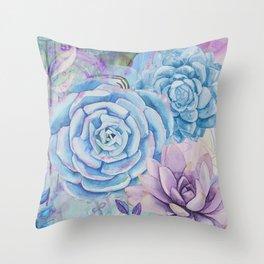 Lety's Lovely Garden Throw Pillow
