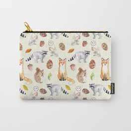 Woodland Critters Carry-All Pouch