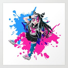 Ibuki - Danganronpa 2 Art Print