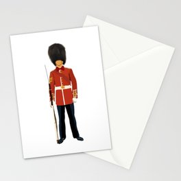 Queen London Guard  Stationery Cards