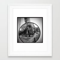 mirror Framed Art Prints featuring Mirror by Jean-François Dupuis