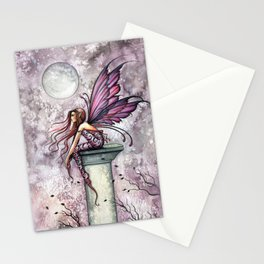 The Lookout Fairy Fantasy Art by Molly Harrison Stationery Cards