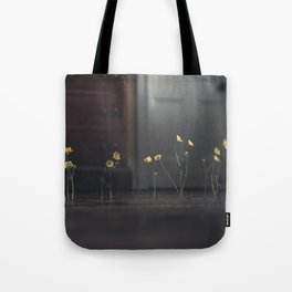 Flowers on the Floor Tote Bag
