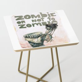 Zombie + Shakespeare Side Table