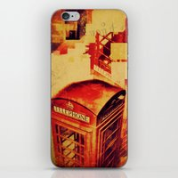 telephone iPhone & iPod Skins featuring Telephone  by Ukridge
