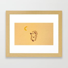 Hello Moon Framed Art Print